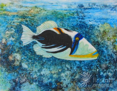 Picasso Fish By Iris Harden