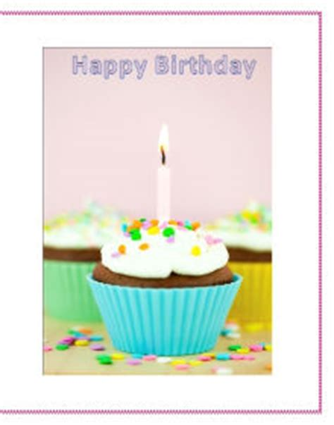 how to make birthday cards on microsoft word use microsoft office to make your own birthday cards