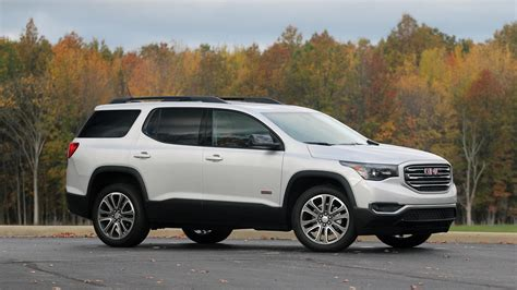 Gmc Acadia Review 2017 gmc acadia all terrain review