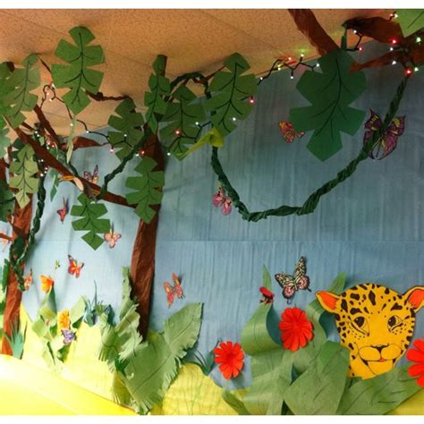 rainforest crafts for 17 best ideas about rainforest theme on