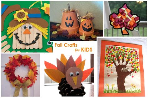 fall crafts autumn projects for autumn crafts picture