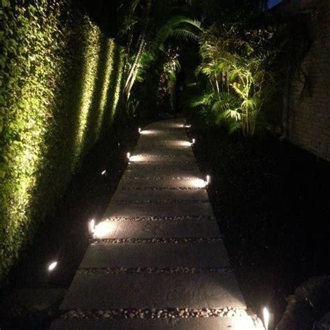 landscape path lighting led modern low profile accent path lighting modern