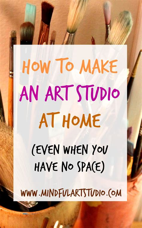 to make at home 12 ways to make an studio at home