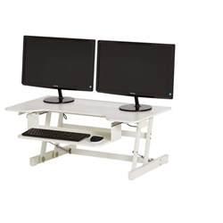 standing desk adapter 100 28 sit stand desk adapter mount it