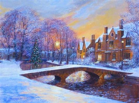 bourton on the water lights terry harrison tree bourton on the water