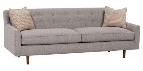 modern century furniture mid century fabric sofa with inset legs club furniture