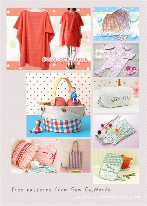 free craft projects free japanese sewing patterns sew co world by