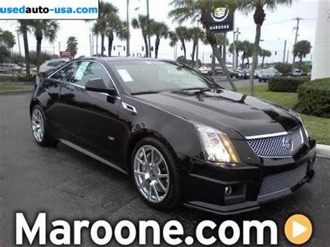 2010 Cadillac Cts V Coupe For Sale by For Sale 2011 Passenger Car Cadillac Cts V Coupe Base