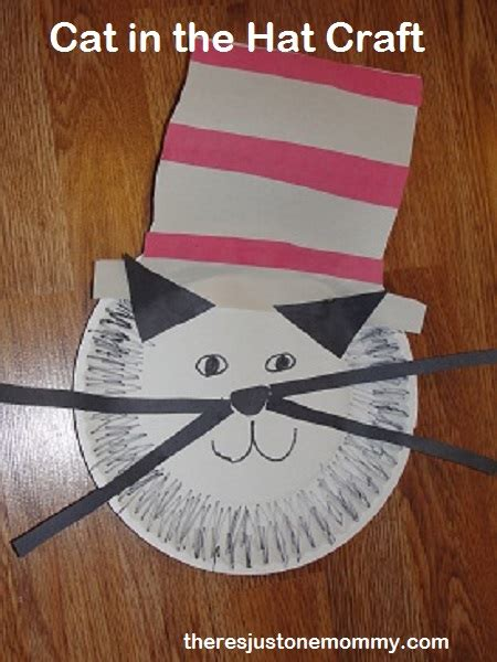 cat in the hat crafts for cat in the hat craft there s just one