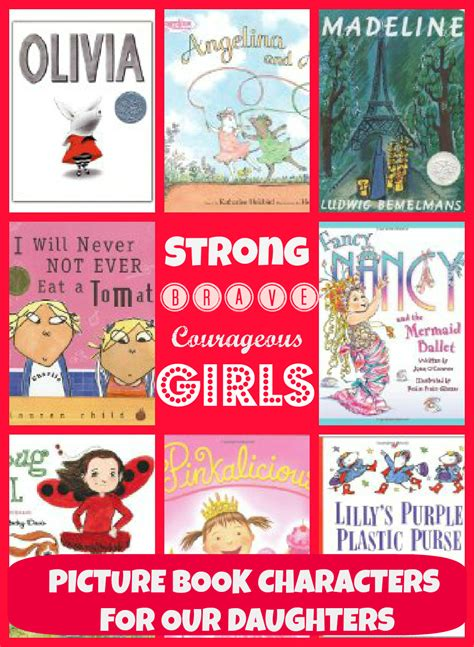 picture book characters strong brave courageous picture book characters
