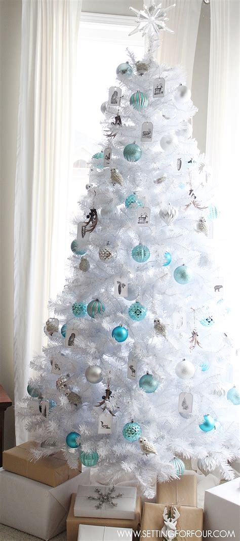 white tree decoration ideas 25 non traditional decorating ideas