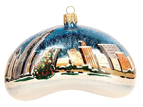 chicago ornament invitation template