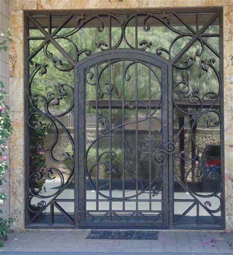 front door iron gates glass and iron front door contemporary front doors