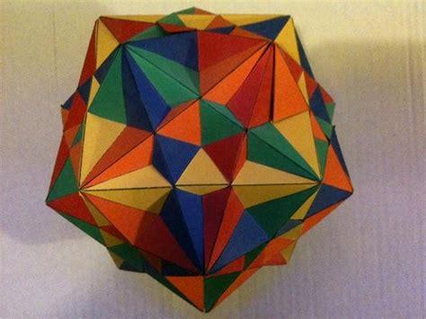 square origami 30 square sliding modular origami 171 math craft wonderhowto