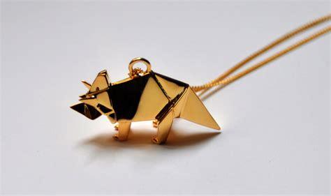 origami jewels origami jewellery by arnaud la76 design