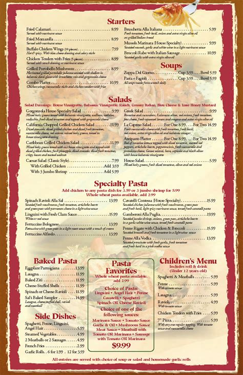 restaurant menu templates graphics and templates