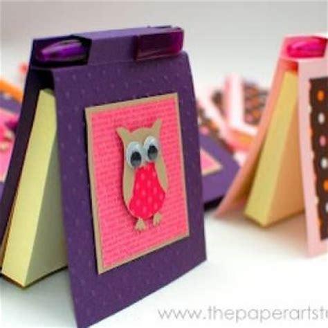 post it craft paper diy post it notes holder paper craft tip junkie
