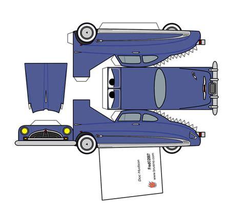 paper craft car cars printables