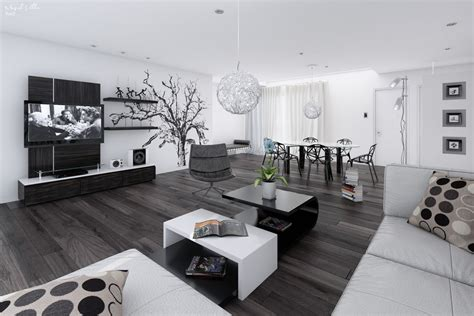 Silver Ceiling Fan With Light by Black Amp White Interiors