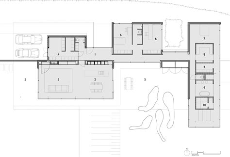 modern contemporary floor plans house faes by hvh architecten keribrownhomes