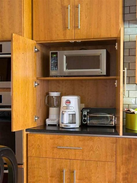 kitchen appliance storage ideas kitchen cabinet appliance storage kitchen cabinet