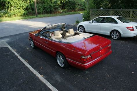 electric and cars manual 1995 mercedes benz e class spare parts catalogs find used 1995 mercedes benz e320 convertible custom 5 speed manual only 1 like it in