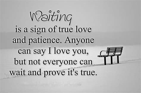 signs of true waiting is a sign of true and patience anyone can