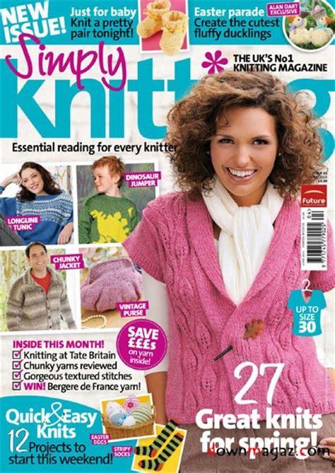 simply knitting simply knitting april 2010 187 pdf magazines