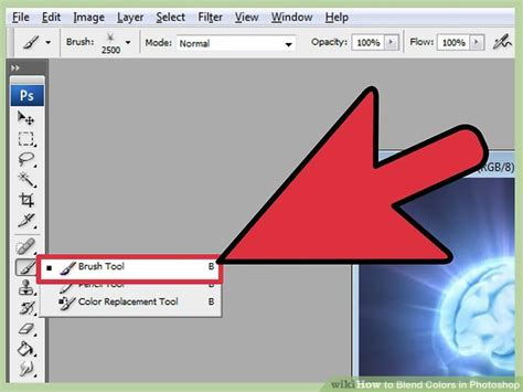 how to color in photoshop how to blend colors in photoshop with pictures wikihow