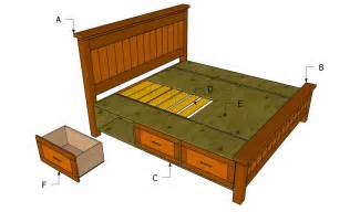 how to make a platform bed frame with drawers how to build a platform bed frame with headboard the