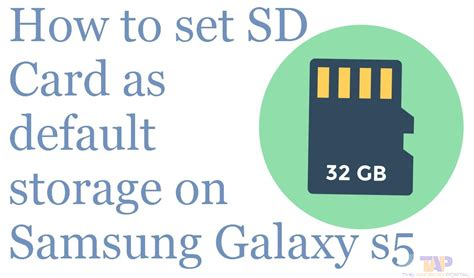 How To Save Pictures To Sd Card On Galaxy S5 Smartphone