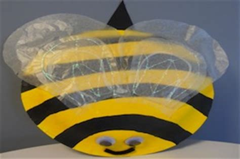 bumble bee paper plate craft paper plate bumblebee