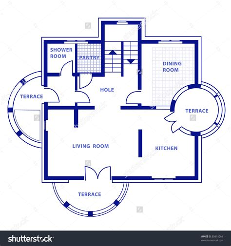 blueprint for houses blueprint in house home deco plans