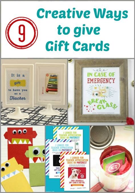 who makes gift cards 9 creative ways to give gift cards organize and decorate