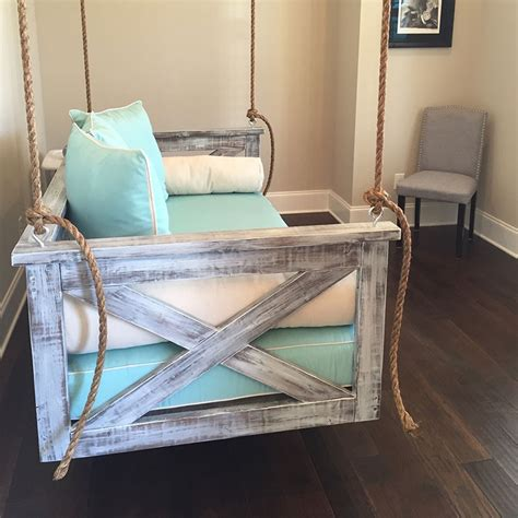 swinging bed frame lowcountry swing beds the cooper river day bed porch swing