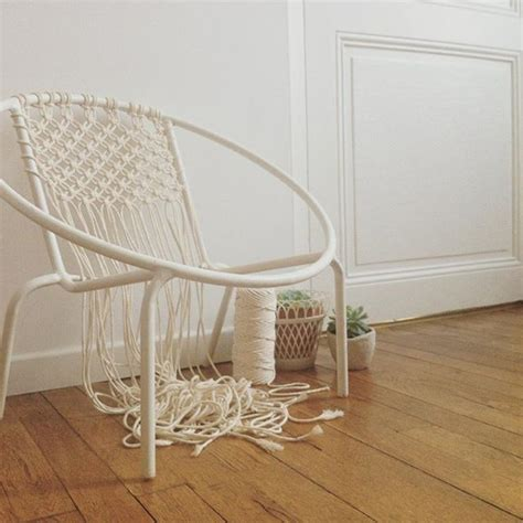 macrame furniture 17 best ideas about macrame chairs on macrame