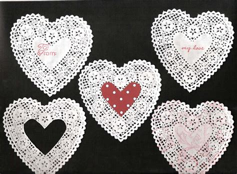 lace craft paper lace hearts cheap embellishment times guide to