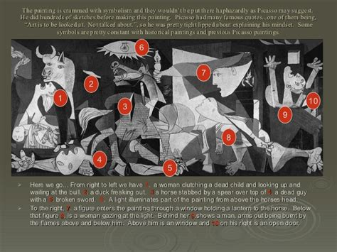picasso paintings explanation guernica