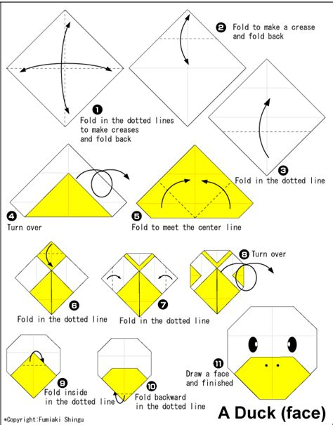how to make duck origami origami duck easy origami for
