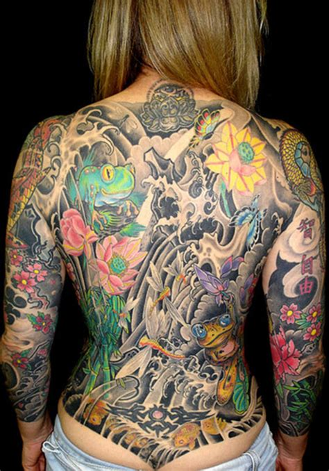 women full back tattoo picture at checkoutmyink com