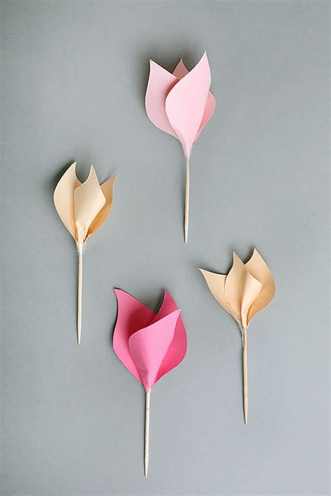 paper flowers crafts 7 paper flower crafts for s day handmade