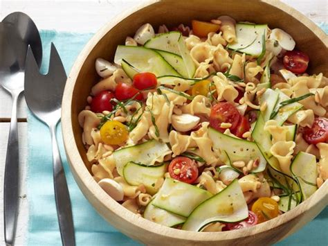 garden pasta with bocconcini recipe food network kitchen food network