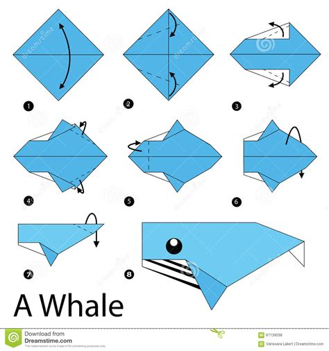 how to make an origami whale step by step how to make origami a whale