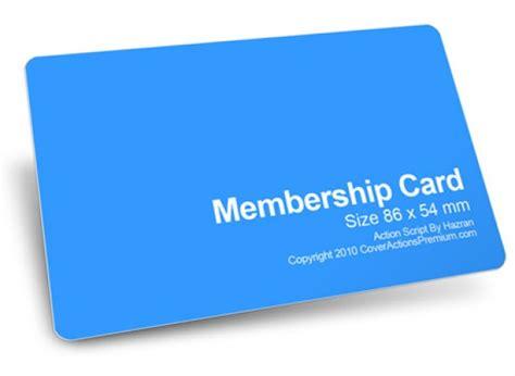 make membership cards image gallery membership card
