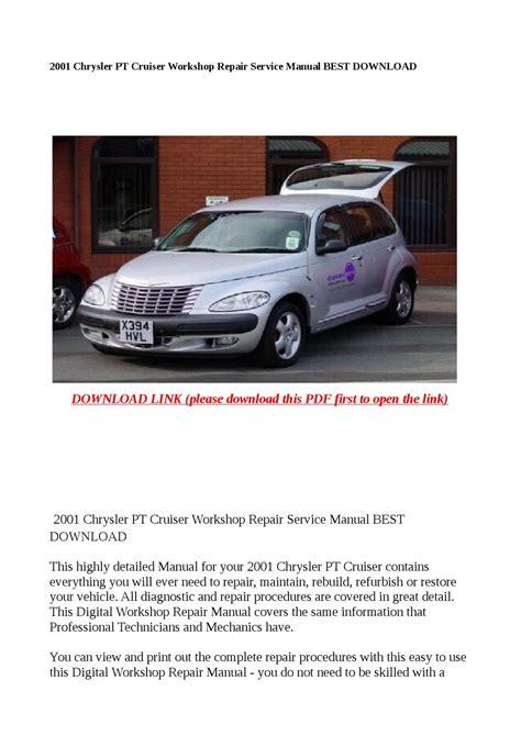 online car repair manuals free 2001 chrysler pt cruiser head up display 2001 chrysler pt cruiser service repair manual download autos post