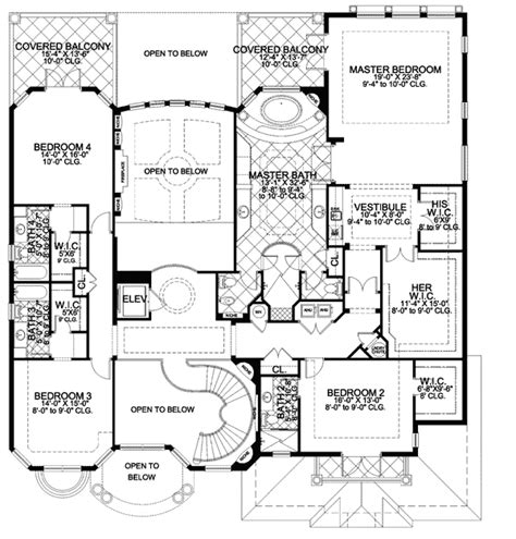 master bedroom floor plan designs luxurious master suite 32062aa 2nd floor master suite butler walk in pantry cad available