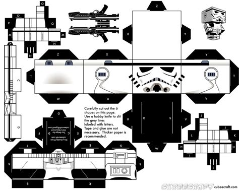 paper cube craft paper craft templates from cubecraft luke wallace