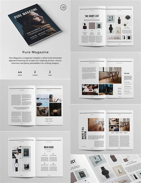 design layout 20 magazine templates with creative print layout designs