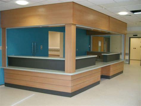 hospital reception desk local hospital a e reception desk in beech veneer with