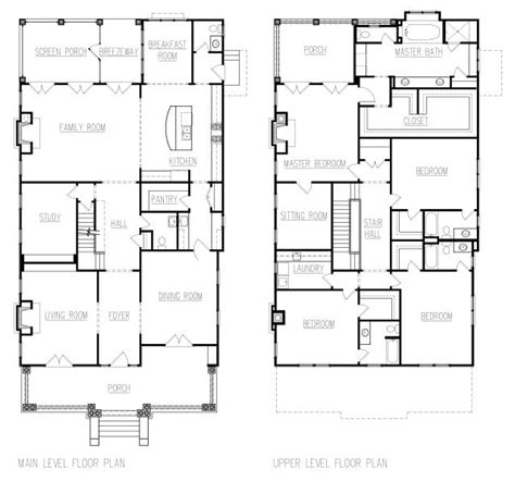 American Foursquare House Plans american foursquare floor plans google search house